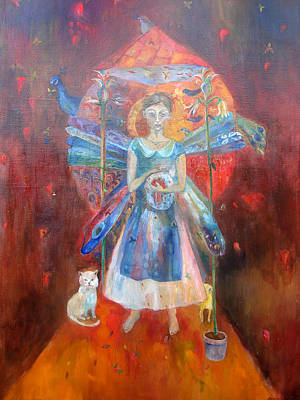 Painting - The Heart by Aurelija Kairyte-Smolianskiene