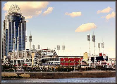 Photograph - The Heart Of Cincinnati  by Kathy Barney