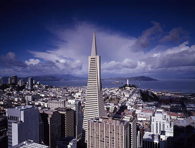 Downtown San Francisco Photograph - The Heart Of San Francisco by Mountain Dreams