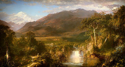 Beautiful Vistas Painting - The Heart Of The Andes by Mountain Dreams