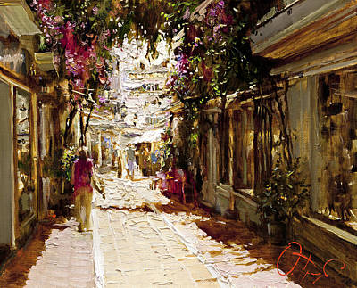 The Heat Of Andalusia Print by Oleg Trofimoff