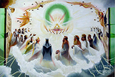 Painting - The Heavenly Throne by Peter Olsen