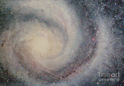Painting - The Heavens Declare Your Glory by Lynn Quinn