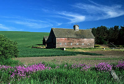 Photograph - The Heick Barn by Doug Davidson