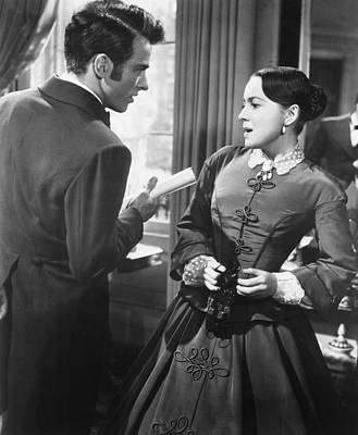 Films By William Wyler Photograph - The Heiress, From Left, Montgomery by Everett