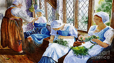 Painting - The Herbalists by Marisa Gabetta