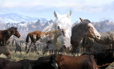 The Herd 2 Art Print