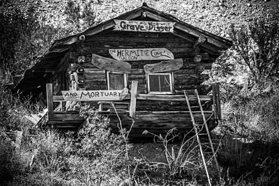 Photograph - The Hermit Cave Saloon by Fred Larson