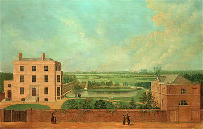 Hermitage Painting - The Hermitage The Hermitage North End Road by Litz Collection