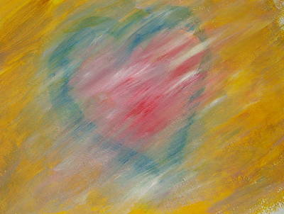 Painting - The Hidden Heart by Sue McElligott