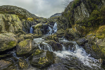 Photograph - The Hidden Waterfall by Ian Mitchell