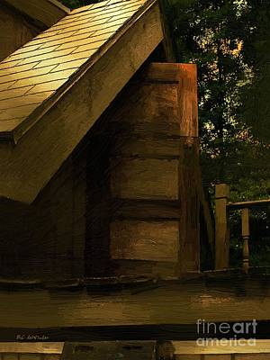 Treehouse Painting - The Hideaway by RC DeWinter