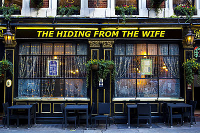 Photograph - The Hiding From The Wife Pub by David Pyatt
