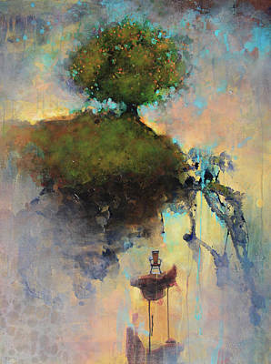 The Trees Painting - The Hiding Place by Joshua Smith