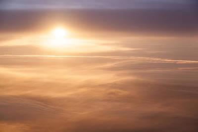 High Altitude Sunset  Art Print