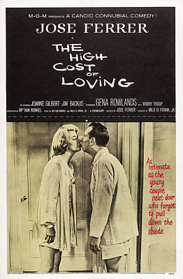 The High Cost Of Loving, Us Poster Art Art Print by Everett
