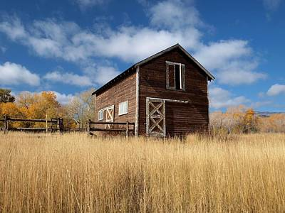 Photograph - The High Grass Barn by Joshua House