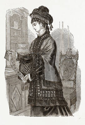 The Hildegarde Mantelet Art Print