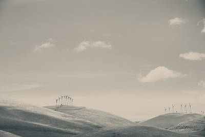 Turbines Photograph - The Hills by Laurie Search