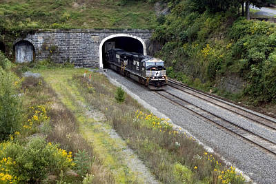 Photograph - The Historic Gallitzin Tunnels by Gene Walls