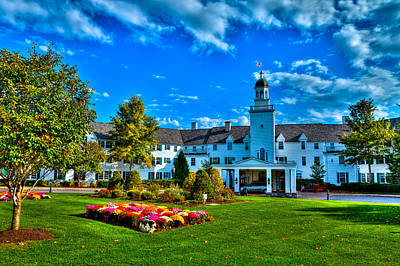 Photograph - The Historic Sagamore Resort by David Patterson