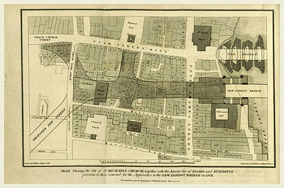 Parish Drawing - The History And Antiquities Of The Parish And Church Of St by Litz Collection