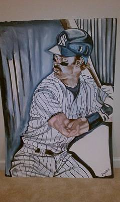 Mattingly Painting - The Hitman by Lynde Washington