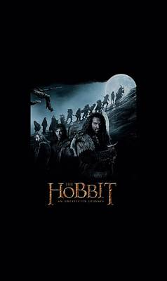 The Hobbit Wall Art - Digital Art - The Hobbit - A Journey by Brand A