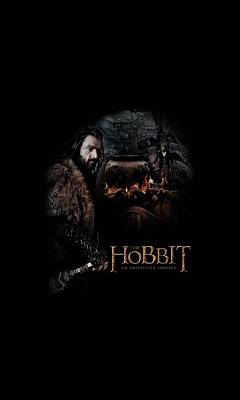 Tolkien Digital Art - The Hobbit - Cauldron by Brand A
