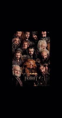 Tolkien Digital Art - The Hobbit - Dwarves Poster by Brand A