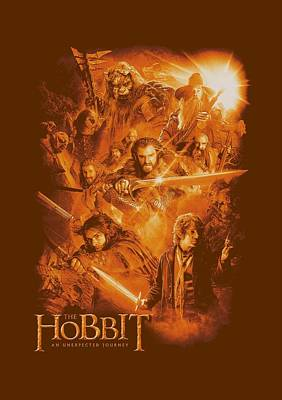 The Hobbit Wall Art - Digital Art - The Hobbit - Epic Adventure by Brand A