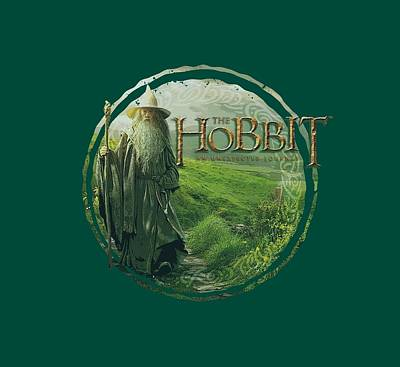 The Hobbit Wall Art - Digital Art - The Hobbit - Gandalfs Journey by Brand A