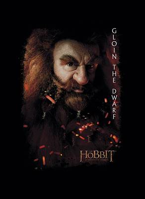 The Hobbit Wall Art - Digital Art - The Hobbit - Gloin Poster by Brand A