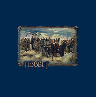 The Hobbit Wall Art - Digital Art - The Hobbit - Hobbit And Company by Brand A