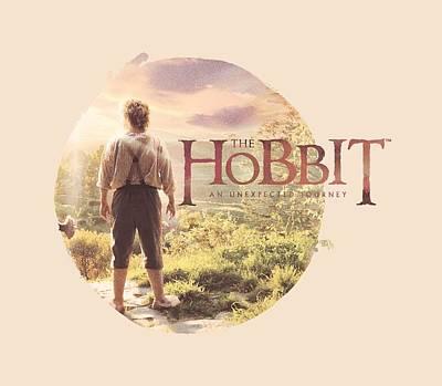 Tolkien Digital Art - The Hobbit - Hobbit In Circle by Brand A