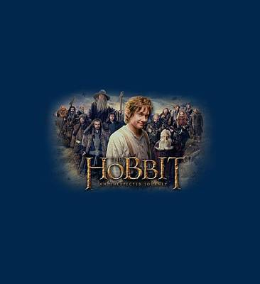 The Hobbit Wall Art - Digital Art - The Hobbit - Hobbit Rally by Brand A