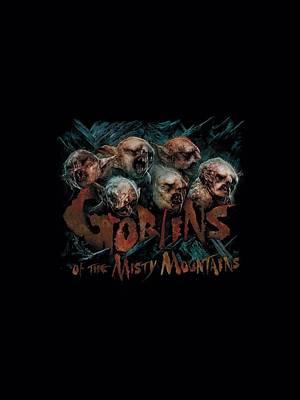 Goblin Digital Art - The Hobbit - Misty Goblins by Brand A