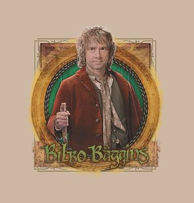 The Hobbit Wall Art - Digital Art - The Hobbit - Mr. Baggins by Brand A