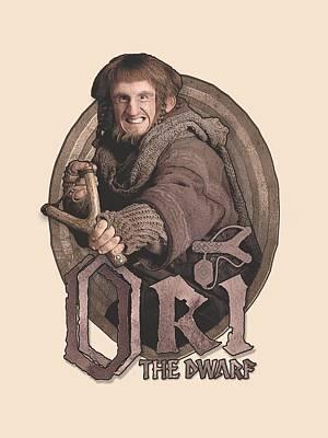 Tolkien Digital Art - The Hobbit - Ori by Brand A