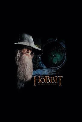 Tolkien Digital Art - The Hobbit - The Door by Brand A