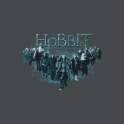 The Hobbit Wall Art - Digital Art - The Hobbit - Thorin And Company by Brand A