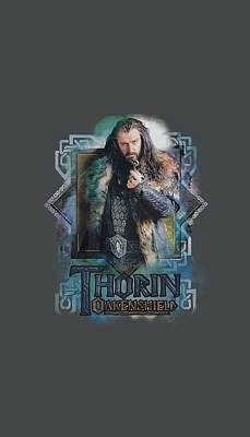 The Hobbit Wall Art - Digital Art - The Hobbit - Thorin Oakenshield by Brand A