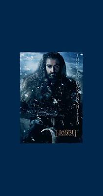 The Hobbit Wall Art - Digital Art - The Hobbit - Thorin Poster by Brand A