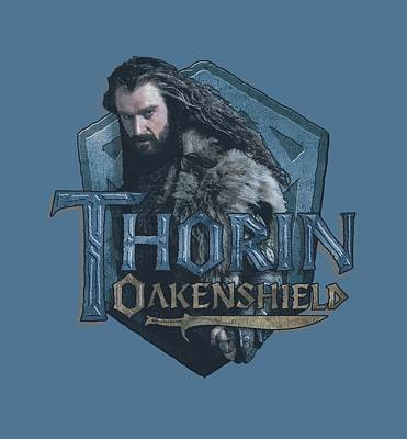 The Hobbit Wall Art - Digital Art - The Hobbit - Thorin by Brand A