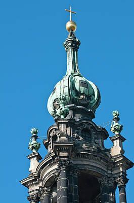 Dresden Wall Art - Photograph - The Hofkirche (church Of The Court by Michael Defreitas