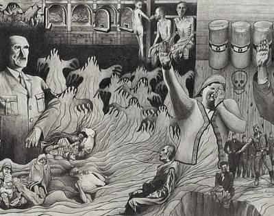 The Holocaust Art Print by Dennis Nadeau