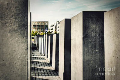 Photograph - The Holocaust Memorial Berlin Germany by Michal Bednarek