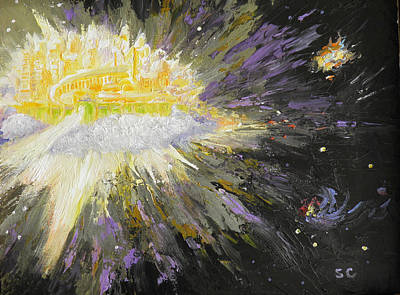 Painting - The Holy City by Sharon Casavant
