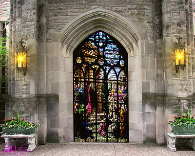 Religious Artist Digital Art - The Holy Door by Michael Rucker