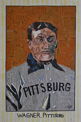 Honus Wagner Mixed Media - The Holy Grail by Tim Carroll